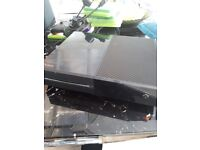 Xbox one with controller and games