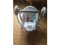 Reduced price!! Musical rocking swing