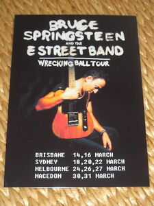 Bruce-Springsteen-Australian-Tour-March-2013-Laminated-Promo-Poster
