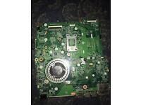 LAPTOP MOTHERBOARD TAKEN OUT OF HP PAVILION 15n222sa