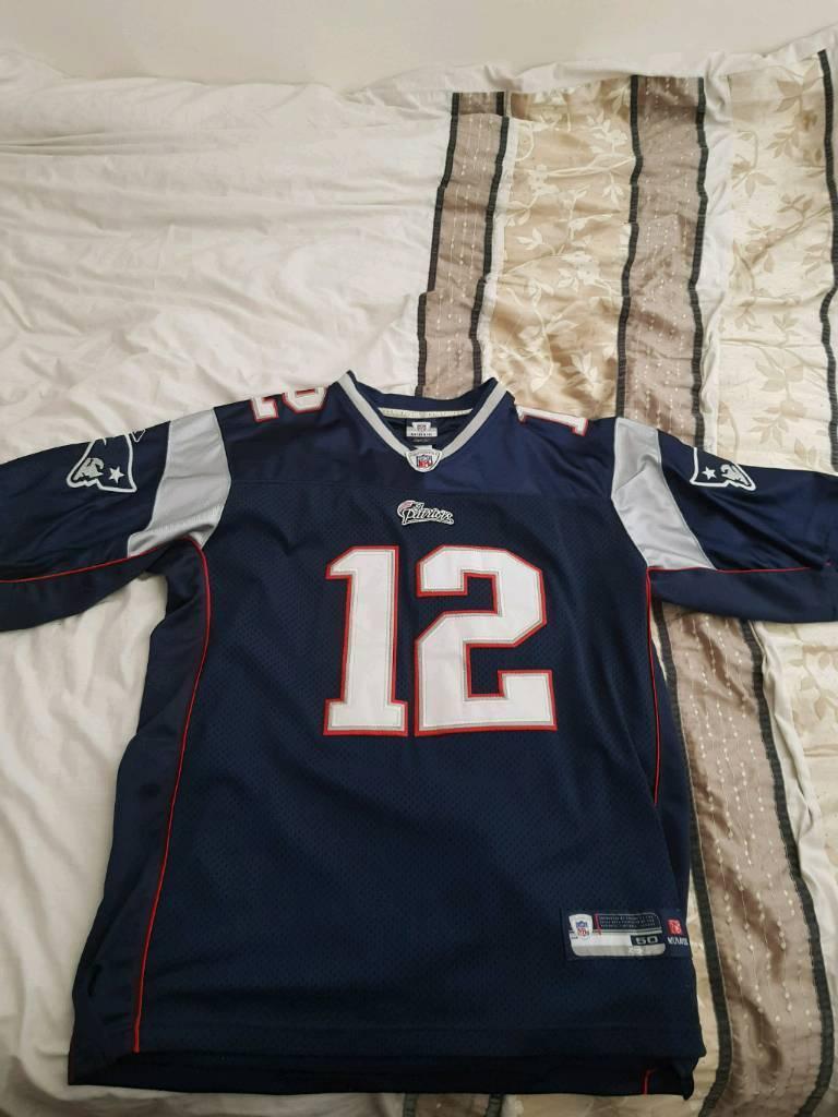 Tom Brady 12 Reebok Jersey  f6530ac54