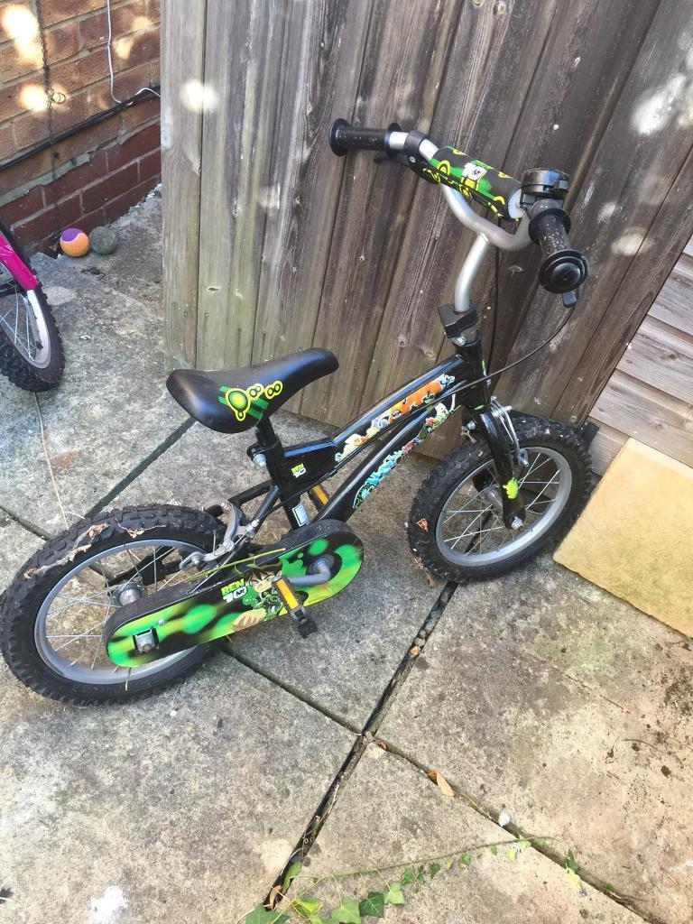 "Boy bike ben 10 14""   in Wokingham, Berkshire   Gumtree"