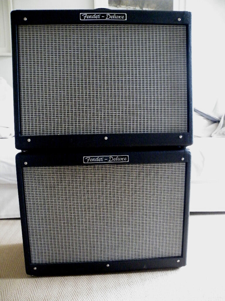 FENDER HOT ROD DELUXE COMBO and FENDER 112 EXTENSION CAB - both ...