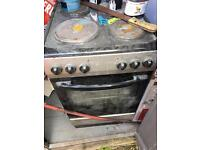 Electric Oven with 4 Hobbs