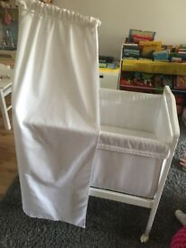 ZARA mini Cot Canopy + mattress