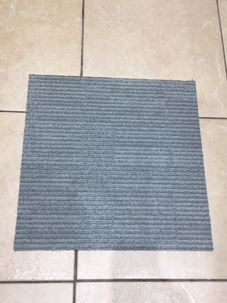 Premium Light Grey Carpet Tiles £1 each