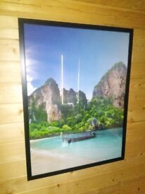 Large tranquil island framed print (4 of 4)