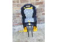 Childs seat for adult bike