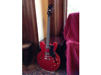 epiphone 335 dot cherry