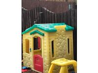 Little tikes outdoor play house