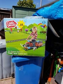 Battery operated Train and track set