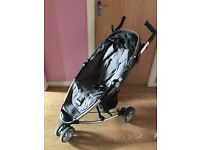 Petite Star Zia 3 Wheel Reclinable Pushchair Pram Stroller (Similar to Quinny Zapp)