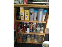 Solid Bookshelf/storage cabinet