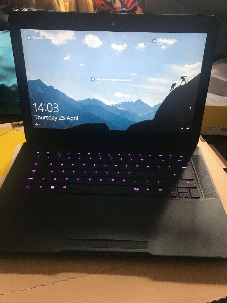 Razer Blade Gaming Laptop || GTX 1060 6GB, 16GB ram, i7 7700HQ, Chroma | in  Govan, Glasgow | Gumtree