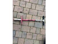 Stilts and Pogo stick