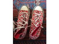 Women's summery converse trainers 6