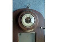 vintage barometer , full working order