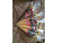 Sweet cones , sweet jars, pick n mix gift boxes