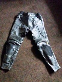 Nankai Leather Trousers