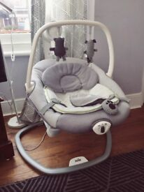 Joie Serina 2 in 1 baby swing rocker BOXED