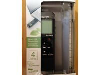 Sony voice recorder with usb PX440