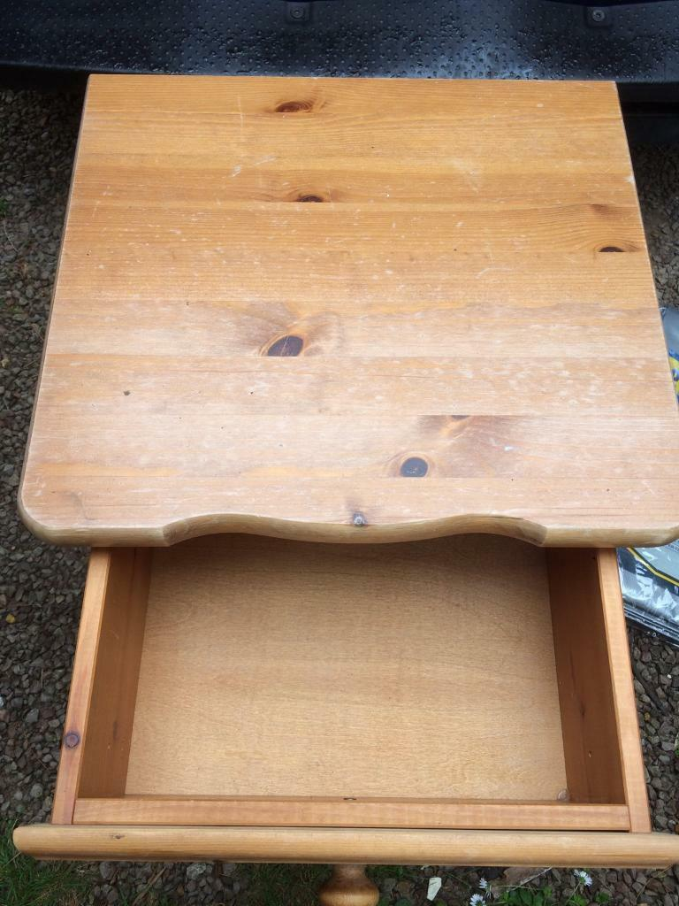 Pine bedside tablein Winchester, HampshireGumtree - Pine bedside table Ideal for up cycling/ painting Can deliver locally for cost