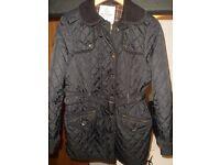 next barbour style jacket,size 14,excellent condition