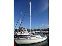 MkII Invicta 26 Sailing Yacht/Boat/Cruiser