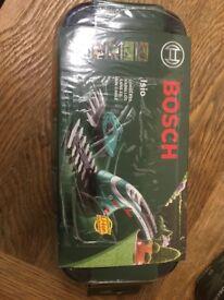 Bosch hedge cutter.