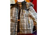 Boy check coat 9/10
