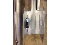 Electric garage door shutter
