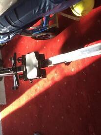 Concept 2 rowing machine pm3