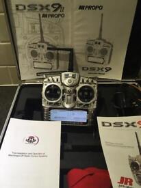JR DXS 9 9ch transmitter