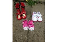 Infant shoes/ wellies size 3