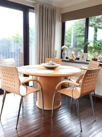 Skiovby expending round table