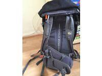 'Lowe Alpine Crag Attack' Grey / Black Rucksack - 42lt / 1lb 14oz