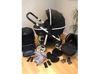 Venicci EXCELLENT travel system pram/Pushchair/car seat