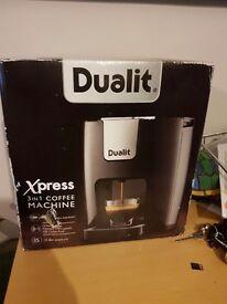 Dualit Express 3in1 Coffee Machine. Brand New