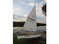 Laser 1 Sailing Dinghy No133259