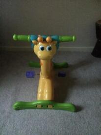 Peddle giraffe