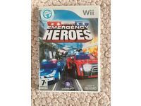 Nintendo Wii Emergency Heroes Game