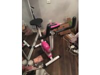 Pink exercise bike for sale !
