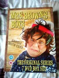 Mrs Brown's Boys dvd Box set