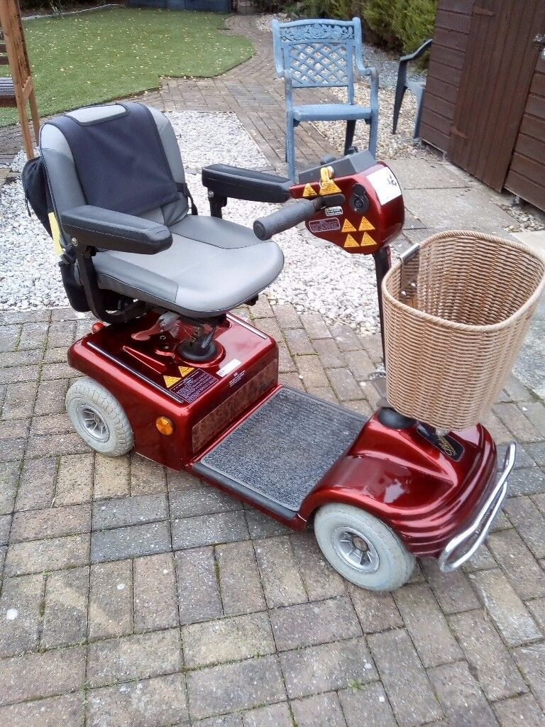 Mobility scooter, shoprider, good working order, 4mph.