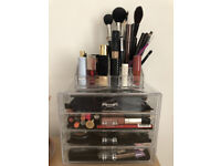 Acrylic Makeup Storage 4 Drawers