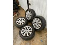 "HONDA JAZZ ALLOY WHEELS & TYRES 15"" INCH"