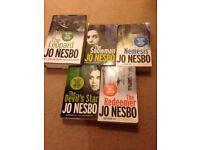 Jo Nesbo books-The Snowman, Nemesis, The Redeemer, The Leopard, The Devil's Star