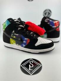 Nike SB Dunk High 'TV Signal' UK 7