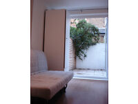 Newly refurbished, self contained studio flat with private back garden