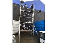 6.2m alloy scaffold tower